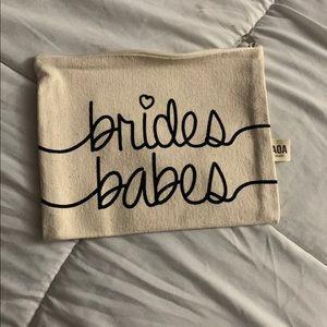 Bride's Babes Canvas Pouch - Set Of 6
